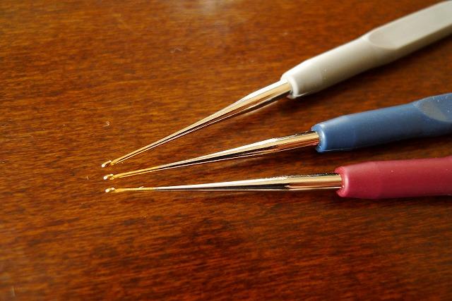 画像3: レース針 3本セット ラバーグリップタイプ
