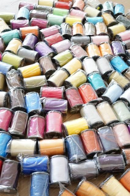 画像1: 大特価!! ●ナルハンのシルク糸●お試し3本セット