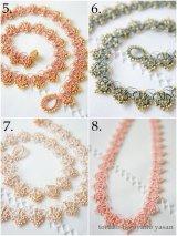 【受注生産品】ボンジュックオヤのネックレス フリル / FRILL Series