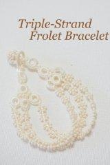 ボンジュクオヤのブレスレット 小花3連 / FLORET Series