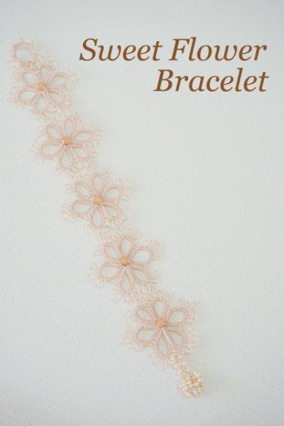 画像1: メキッキオヤのブレスレット スィートフラワー/B002