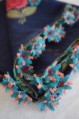 画像5: オデミシュ地区 イーネオヤのお花付スカーフ (5)
