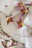画像6: オデミシュ地区 イーネオヤのお花付スカーフ