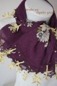 画像5: オデミシュ地区 イーネオヤのお花付スカーフ