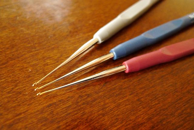 画像4: レース針 3本セット ラバーグリップタイプ