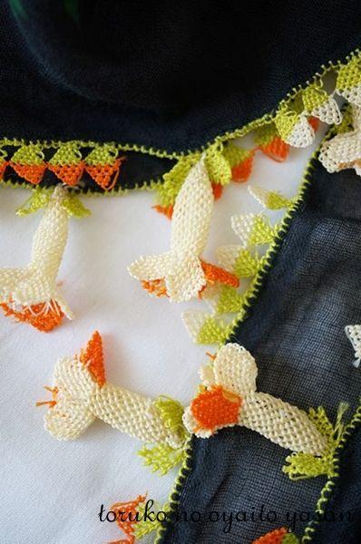 画像1: ベルガマ地区  アンティークイーネオヤスカーフ◆骨董◆